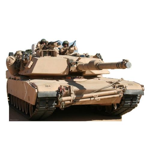 Life Size Army Tank Cardboard Standup Cardboard Cutout