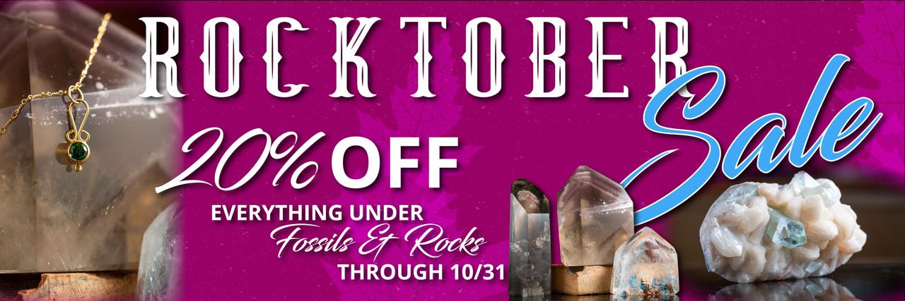 Rocktober sale banner