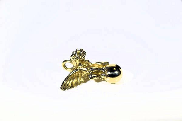 Golden Gargoyle Pendant