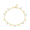 PEARL DISC CHARM  ANKLET