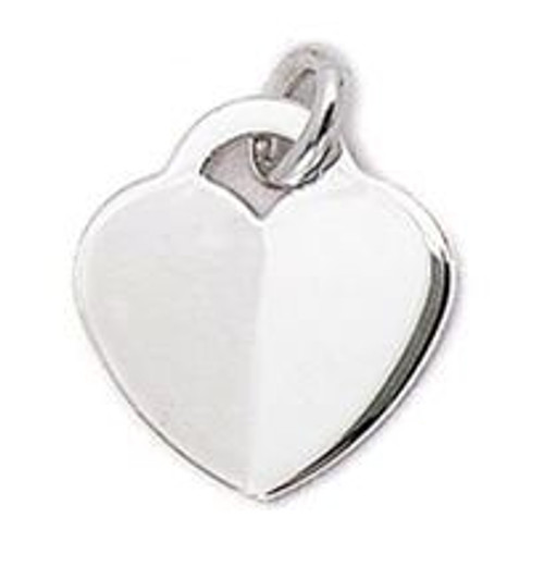 18MM HEART PENDANT