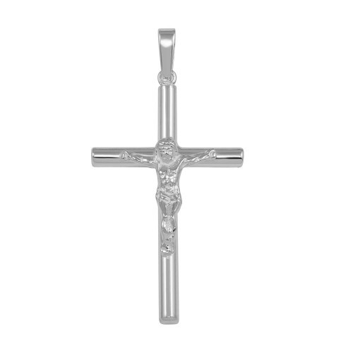 STERLING SILVER SMALL CRUCIFIX PENDANT