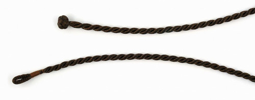 "BROWN SATIN ROPE CORD 18"" (4MM)"