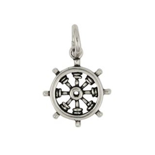SHIP'S HELM / WHEEL CHARM