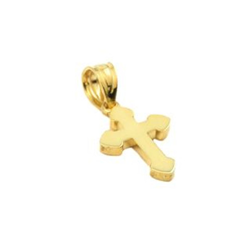 GOLD PLATED SMALL CROSS PENDANT