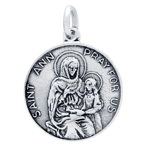 SAINT ANNE MEDALLION CHARM