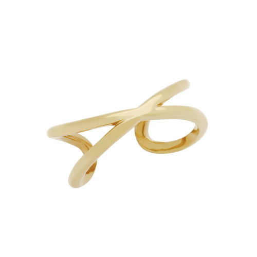 ROSE GOLD PLATED WRAPPED INFINITY ADJUSTABLE RING