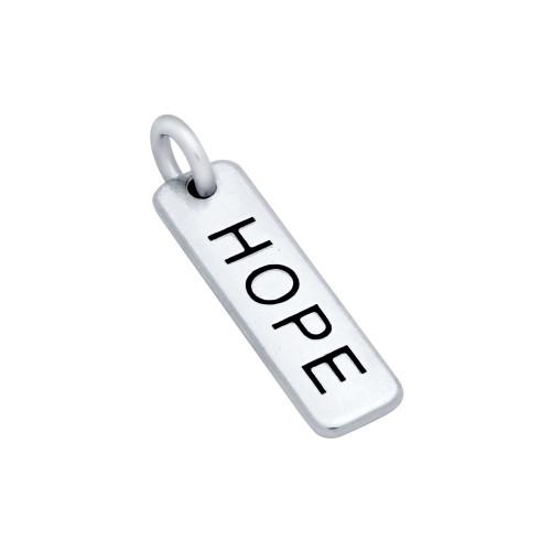 """""""HOPE"""" TAG CHARM"""