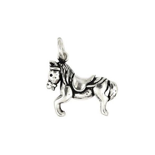 GALLOPING PONY CHARM
