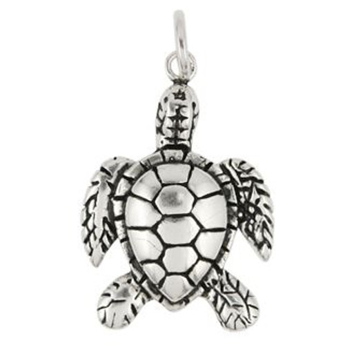 SMALL SEA TURTLE CHARM