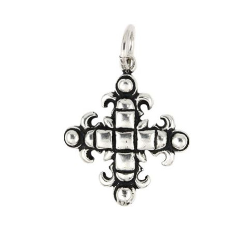 SQUARE CROSS PENDANT