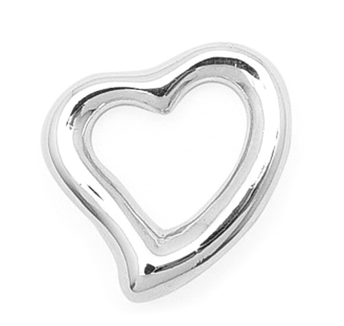 24MM FLOATING HEART PENDANT