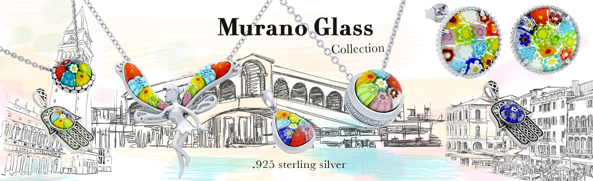 sterling silver fashion jewelry
