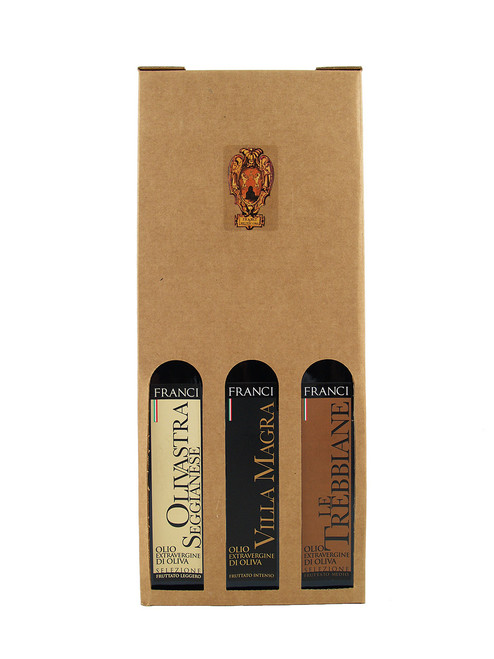 Frantoio Franci Gift Set 3x 250ML