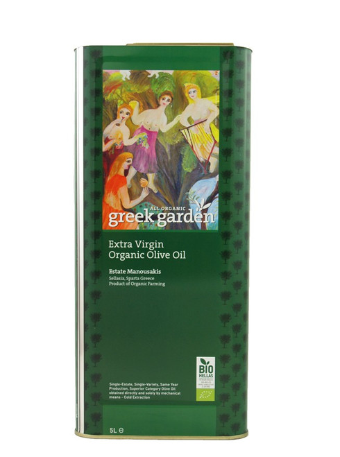 Greek Garden Organic 5L Tin
