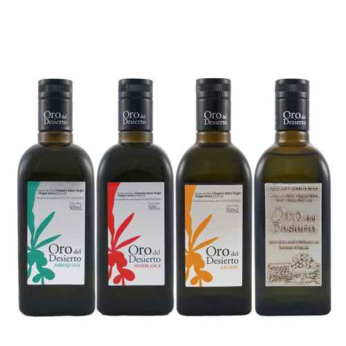 The Oro del Desierto Organic Package