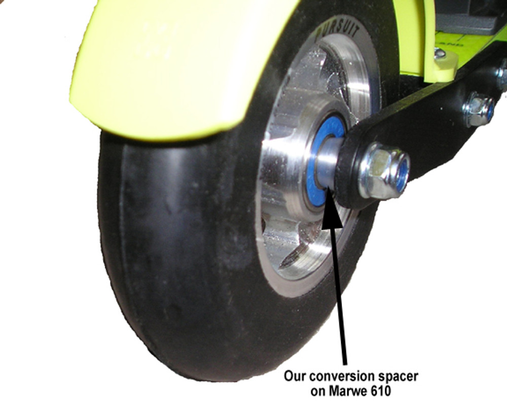 8 Wheel Conversion Spacers for Marwe 610's