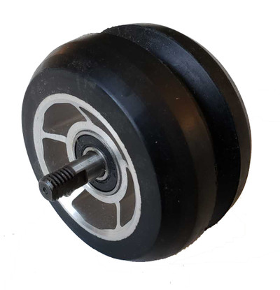 73x43mm V Classic Anti Reverse Rollerski Wheel