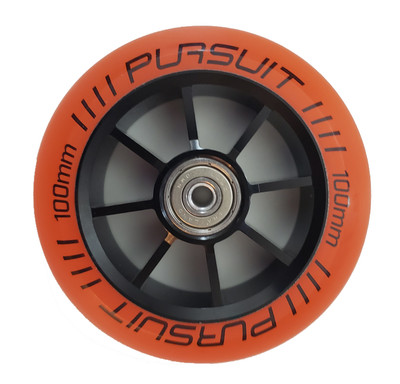 Pursuit 100x24mm built race wheel