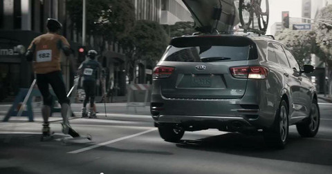 Our Rollerskis in Kia Commercial
