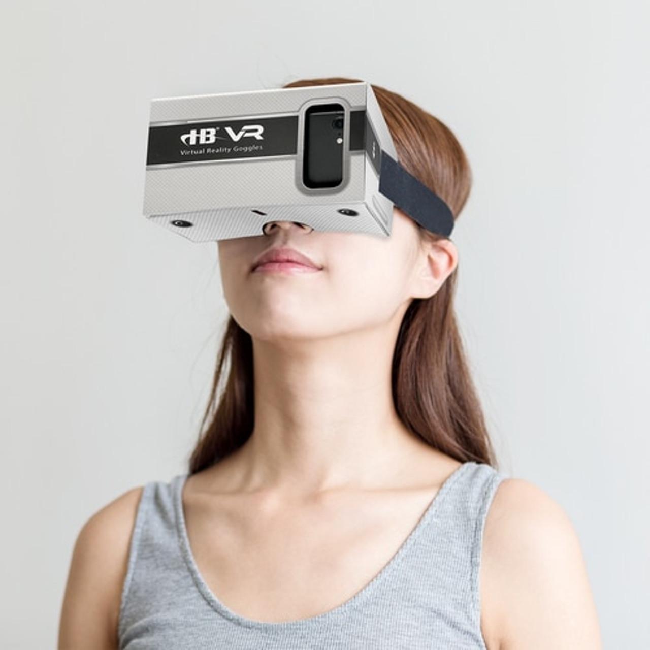 Hamiltonbuhl 3d Virtual Reality Diy Cardboard Goggles For Smartphones