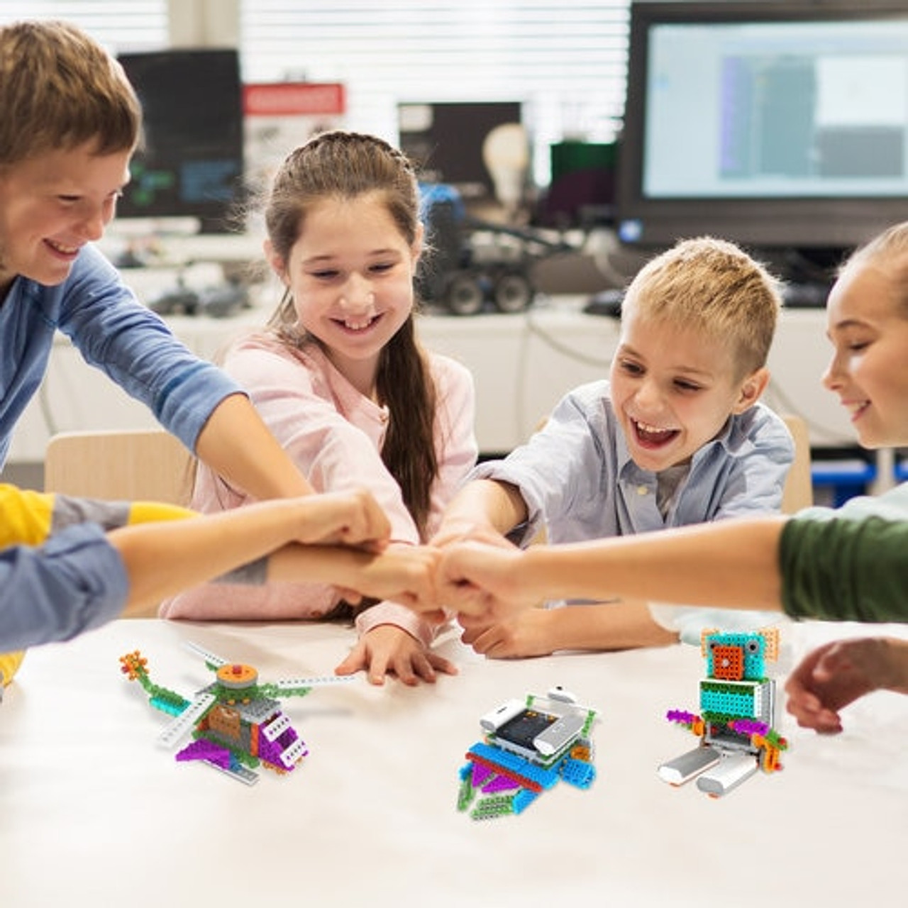 HamiltonBuhl STEAM Education Boost-R-Bots Robot Kit