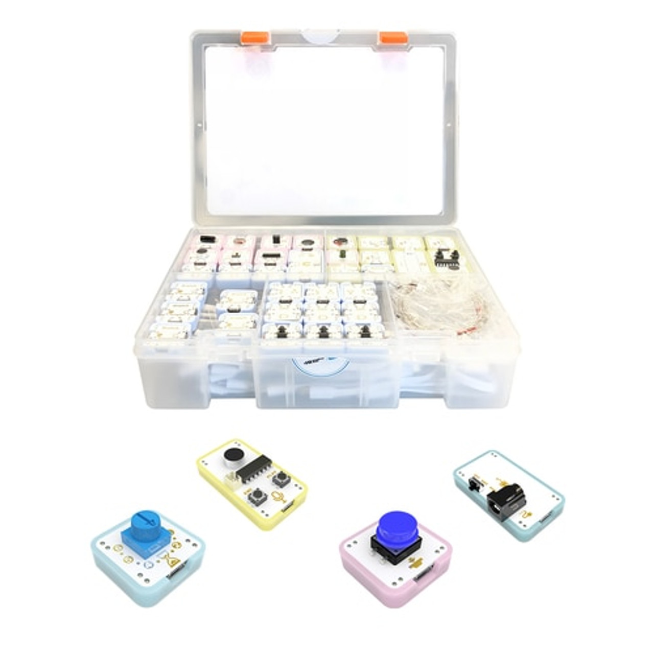 STEAM SNIPS Kit - Electronic Building and Coding Modules - Over 70  Components