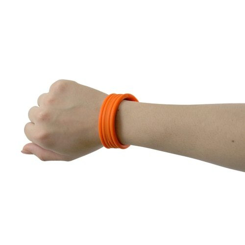 Green Snap-Scribe Stylus Universal Double-Tipped Stylus Snaps Into a Bracelet