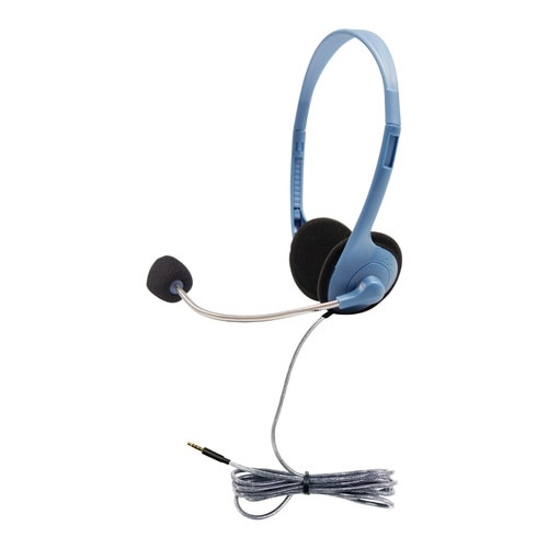 HamiltonBuhl Personal-Sized Headset with Gooseneck Mic and TRRS Plug