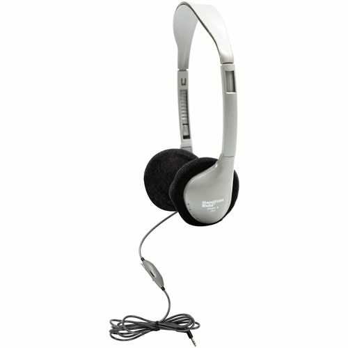 HamiltonBuhl SchoolMate™ Personal-Sized (On-Ear) Stereo Headphone with In-Line Volume Control