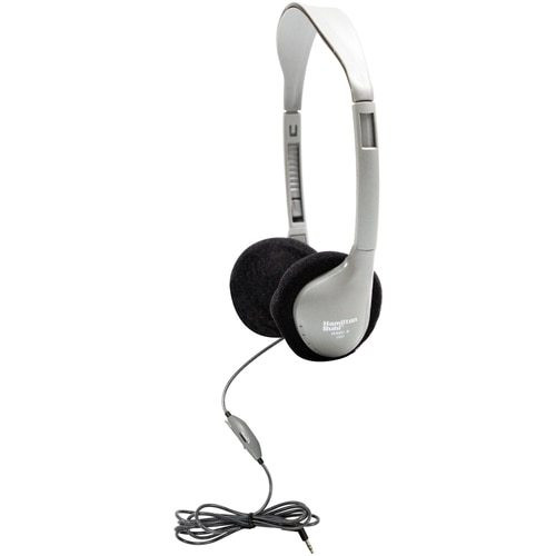 HamiltonBuhl SchoolMate™ On-Ear Stereo Headphone with In-Line Volume Control