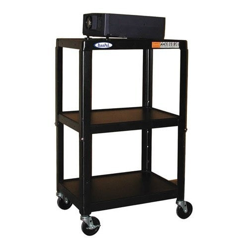 "HamiltonBuhl Steel Cart, Adjustable 26"" to 42"" with Electric"