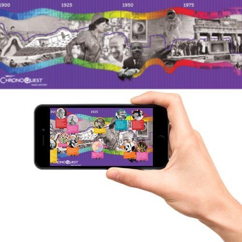 HamiltonBuhl STEAM  Education – ChronoQuest 3D Interactive, Augmented Reality Timeline