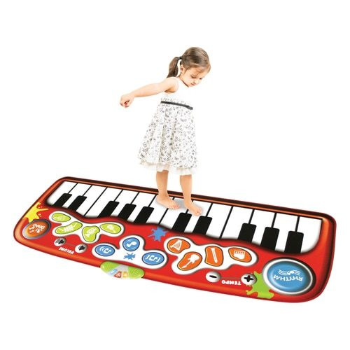 Do-Re-ME Giant 6 Foot Floor Piano Mat - 24 Keys, 8 Different Instrument Sounds!