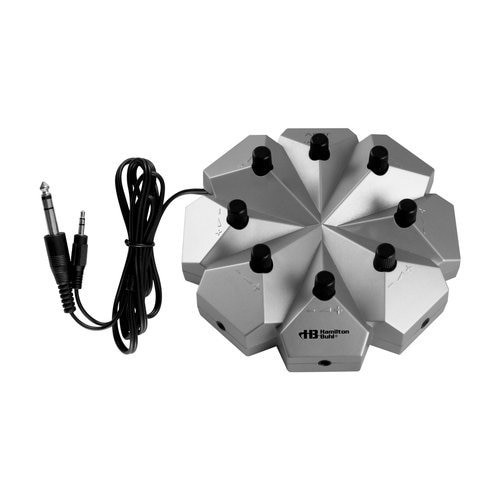 HamiltonBuhl Jackbox - 8 Position, 3.5mm Stereo with Individual Volume Controls