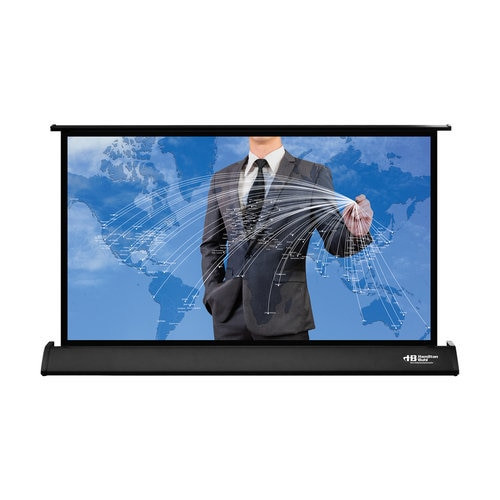 "HamiltonBuhl 30"" Diag. (15''x26'') Tabletop Projector Screen, HDTV Format, Matte White Fabric"
