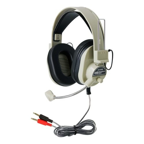 HamiltonBuhl Deluxe Multimedia Headset with Mic