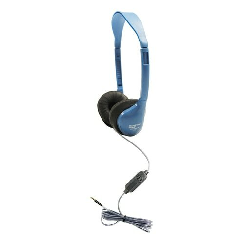 HamiltonBuhl Personal-Sized Headset with In-Line Microphone and TRRS Plug