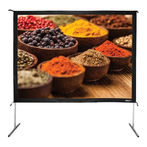 folding frame projector screen