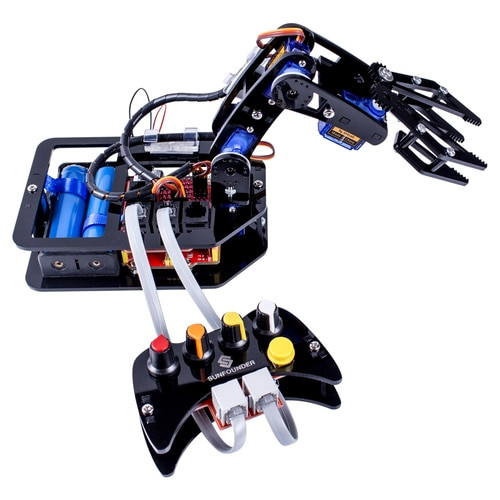 STEAM Robo-Arm Kit for Arduino - Programmable 4-Axis Robot Arm