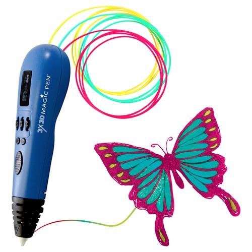 3X3D Magic Pen - 3D Printing Pen - Multi-Filament 3D