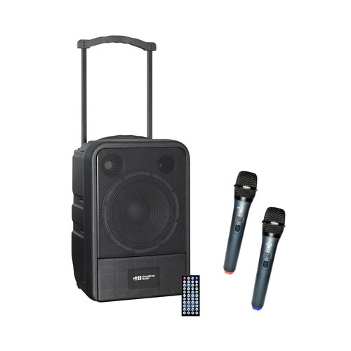 HamiltonBuhl Water-Resistant PA System - MP3 Bluetooth® and Wireless Handheld Microphones