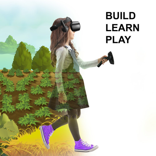 VR Quest Virtual Reality Game Building System