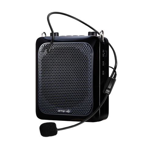 Amp-Up! Personal Voice Amplifier with Wired Microphone