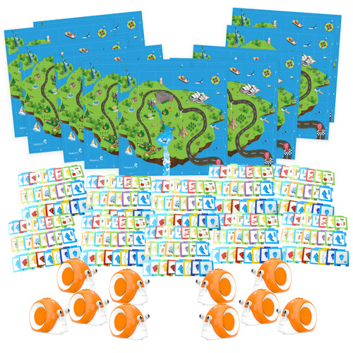 Qobo STEAM ROBOTS - Early STEAM Educational Robot - SET of 10