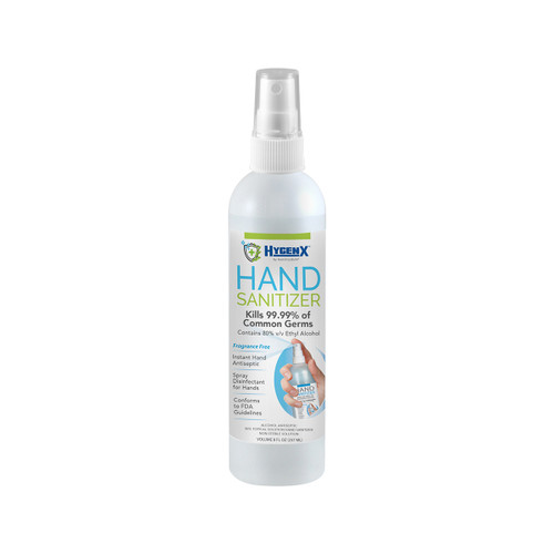 HygenX Hand Sanitizer 8 oz. Bottle