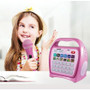 HamiltonBuhl Juke24 Portable, Digital Jukebox, CD Player and Karaoke Player – PINK
