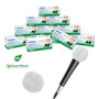 HygenX NatureWeave Sanitary Disposable Microphone Covers - 100% Biodgradable - Master Carton/12 Boxes of 100 Covers