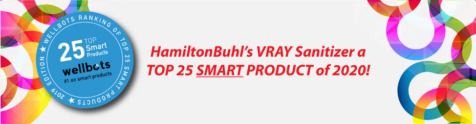 HamiltonBuhl Joins  2020 Wellbots Ranking of the Top 25 Smart Products