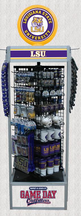 NCAA College Stuff Mix w/Gas Pump Display - Call for Price